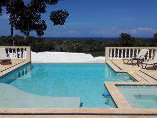 Sosua villa tropical retreat with ocean views