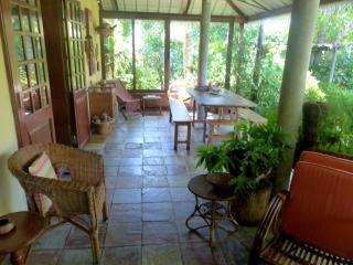 Villa le jardin tropical acces direct de  plage