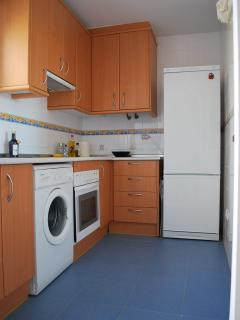 Kitchen of the apartament.