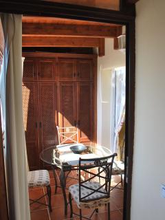 Terrace of the diningroom.