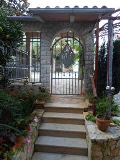 Entrance in property