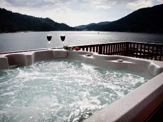 Spectacular Lakefront with Hot Tub and Dock, Big Bear Lake