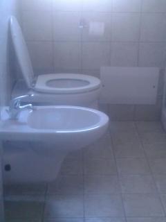 bagno in camera appartamento 'Ammiraglio'