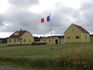 Panoramic View of Acadian Village, Cheticamp