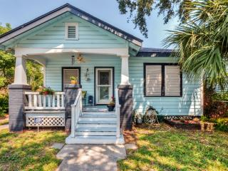 Peaceful Galveston Bungalow Just Feet from Beach!