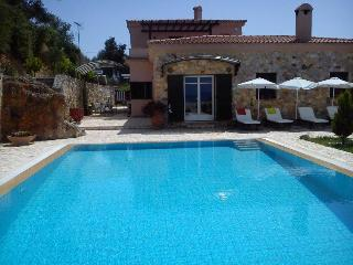 Villa Sunset-relaxed-amazing view-sw.pool-garden, Ano Garouna