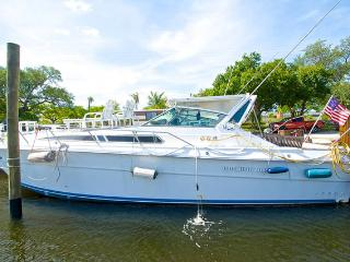39' Searay Power Yacht Cooleys Landing marina, Fort Lauderdale