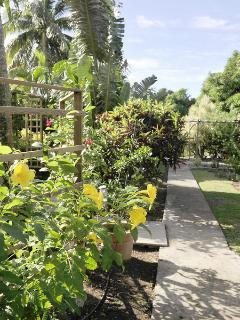 Jardin des gîtes