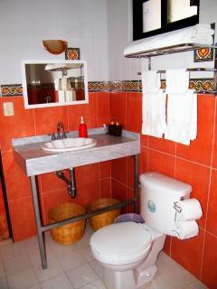Pancho Villa bathroom.