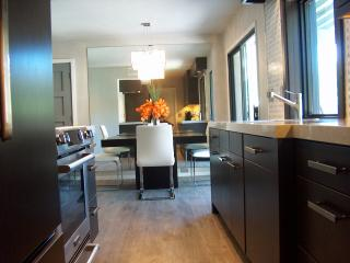 Modern Dining Nook and Galley Kitchen