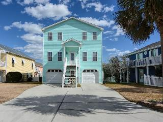 Livin' Simply - Gorgeous 4 bedroom oceanview house, sleeps 10., Kure Beach