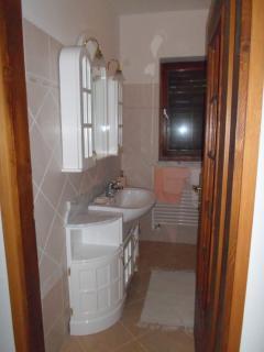 entrance in bathroom