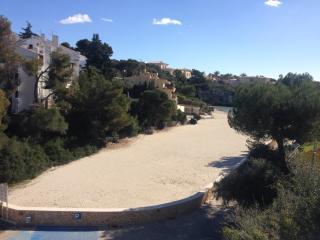 Apartamento frente a la playa con vistas al mar, Cala Ferrera
