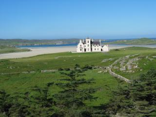 Beautiful Hebridean Victorian Lodge at Uig Sands, Timsgarry
