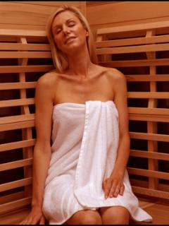 Cedar corner sauna makes for a very relaxing stay...no extra charge for Spa amenities.