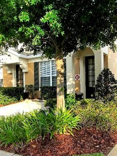 Front of Next2Disney Vacation Villa with private parking. Professionally maintained and secure
