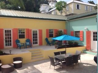 40 king place tropical courtyard, St. Croix