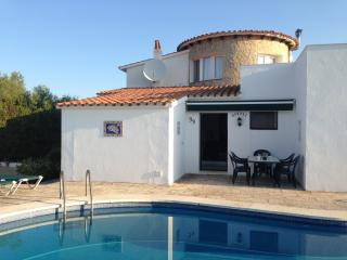 Villa with Views and Pool in Nature Reserve, Es Grau
