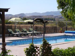 Villa set in breath taking dramatic landscapes, Tabernas