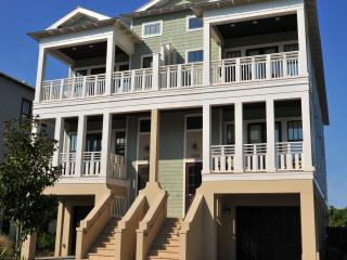 Beautiful Gulf View Home, 100 yards to the Beach!, Inlet Beach