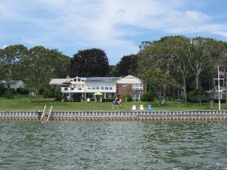 Waterfront Super Suite Directly on Wide Open Bay, Hampton Bays