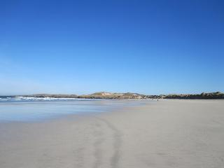 Carrickfinn's blue flag beach