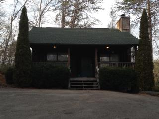 Drive way/Front of cabin