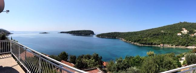 panorama view from the balcony