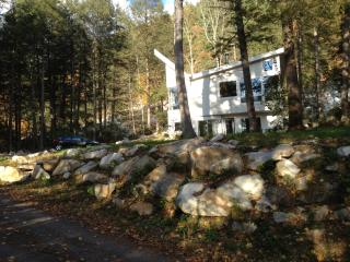 Peg's Place On The Rocks. Boulders, Trees, River!, Great Barrington
