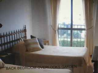 Bedroom with Juliet balcony overlooking the garden