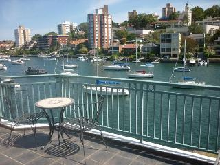 NS169 - 2 BR, Fully Furnished Waterfront Apartment, Kirribilli