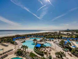 AUGUST DISCOUNT! 2.5 acre Pool Complex, Oceanfront N beach Plantation Towers 2BR