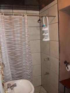 Bathroom , Toilet on right,