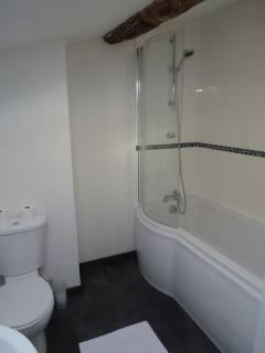 The upstairs family bathroom