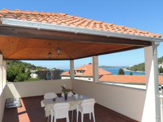 Villa Hortenzia - Three-Bedroom Apartment with Terrace and Sea View