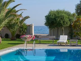 4-Bdrm Deluxe Villa with Pool on the Beach-Athens