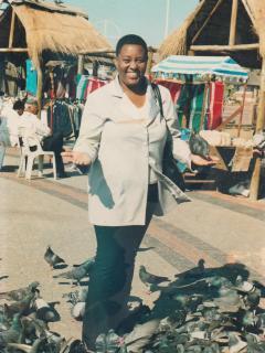 Elizabeth Sithebe.Homestay owner.