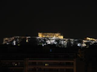 Penthouse apartment at beautiful 1934 building. Acropolis view/central location