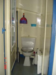 privated toilet