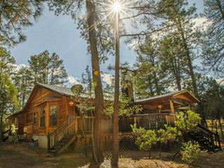 Spacious Cabin with Guest Casita for Larger Groups, Payson