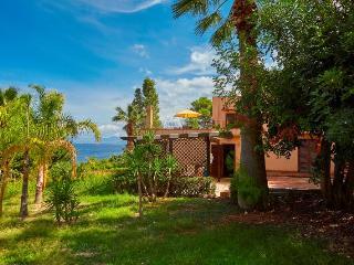 Villa on the sea in Scopello