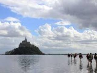Traversée de la Baie du Mont Saint Michel à pied avec un guide