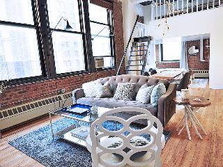 Huge designer downtown loft, New York City