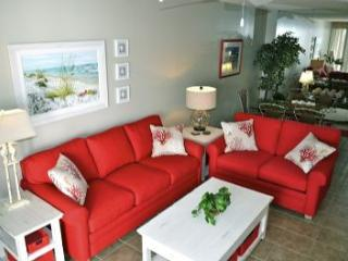 ON THE BEACH!  'Beach Blessings' is our condo's name . . . Come see Why!