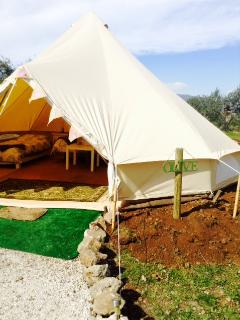 Our 6m Family Bell Tent