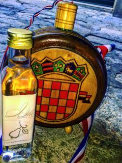 Traditional Croatian drinks available for you to try