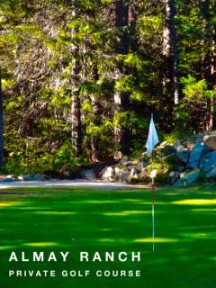 Green 9 at our Private 9-Hole Golf Course
