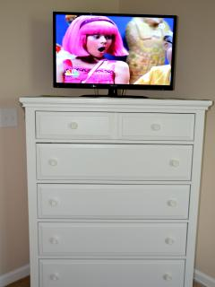 3rd TV in the second bedroom.
