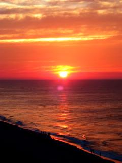 Beautiful sunrise at Myrtle Beach