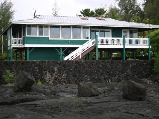Ocean Front Home on The Big Island, Keaau